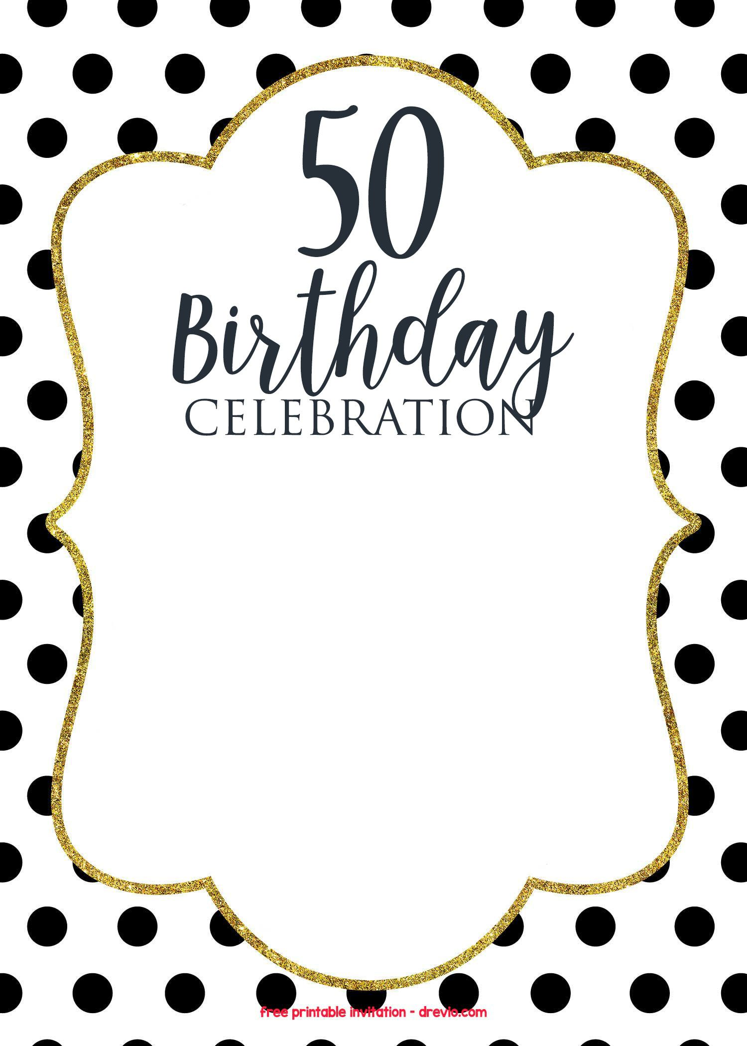 50th birthday invitations online free printable birthday cool 50th birthday invitations online 50th birthday invitations happy 50th birthday its your birthday filmwisefo