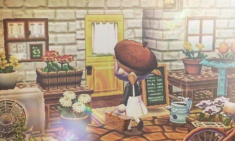 路地裏の 小さなレストランへ ハピ森でお店の外観を