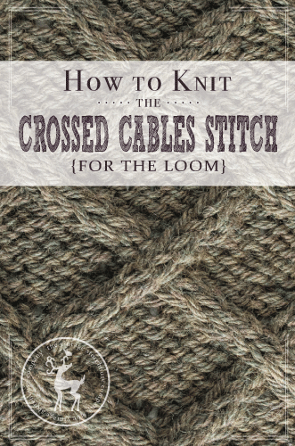 Today is Day 15 of our 31 Days of Knitting Challenge. This is a good basic cable stitch called the Crossed Cables Stitch. It's a good stitch to learn, even if it's just to practice cable knitting on the loom! HOW TO KNIT THE CROSSED CABLE STITCH {FOR THE LOOM} MATERIALS USED IN THE VIDEO: Knitting Loom: Regular … #loomknitting