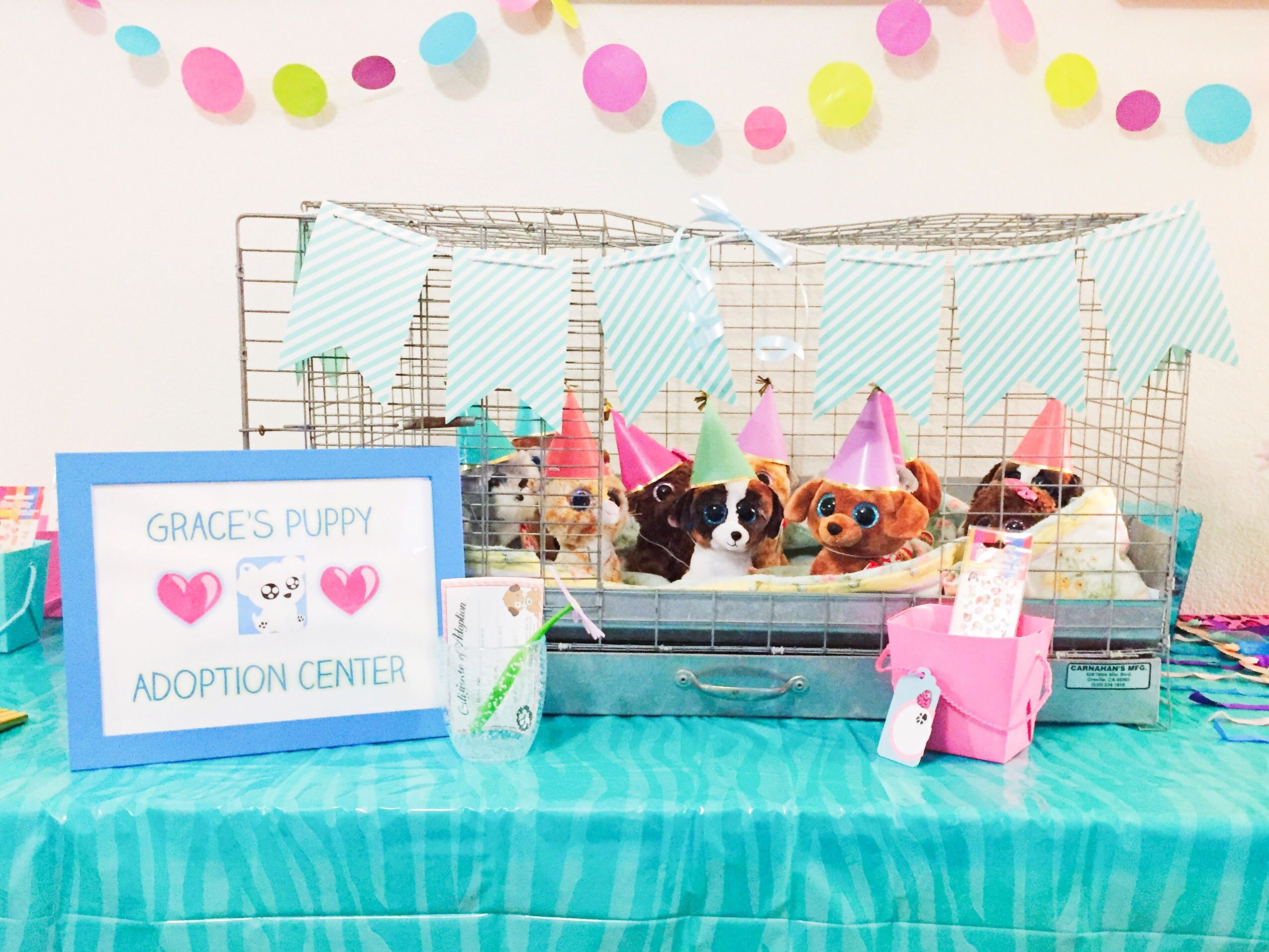 Puppy Adoption Birthday Party S