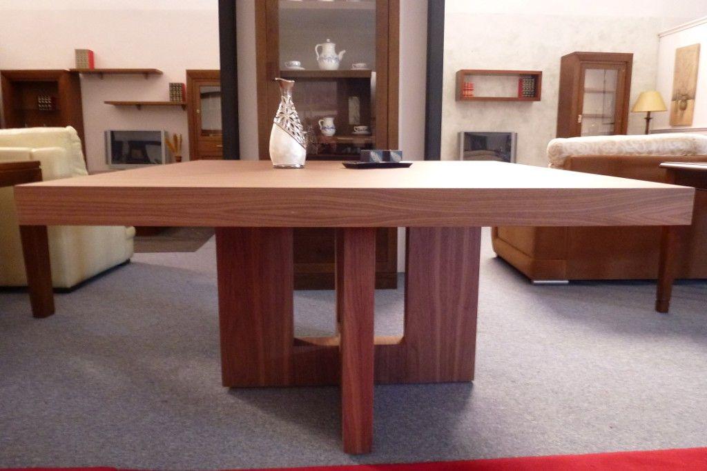 Mesa comedor nogal americano mesas de madera pinterest for Mesa comedor nogal