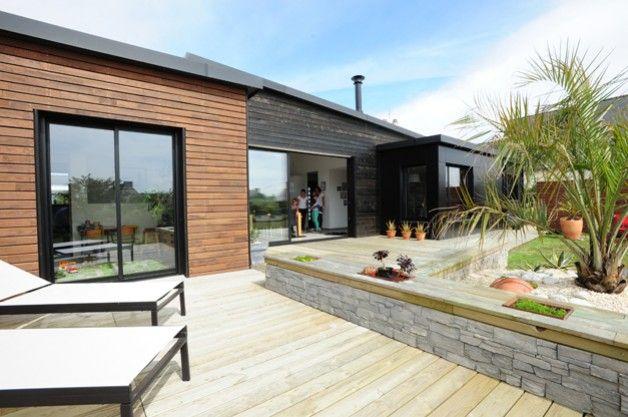Primobois - maison ossature bois - France Home Decor Pinterest - construire sa maison en guadeloupe