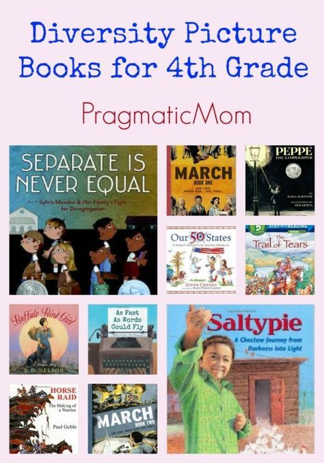 Diversity Picture Books For 4th Grade Classroom Pinterest
