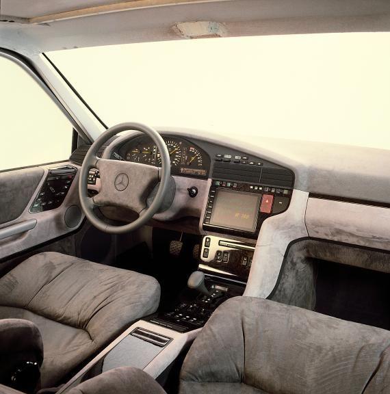 Og 1991 Mercedes Benz S Class W140 Interior Design Proposal