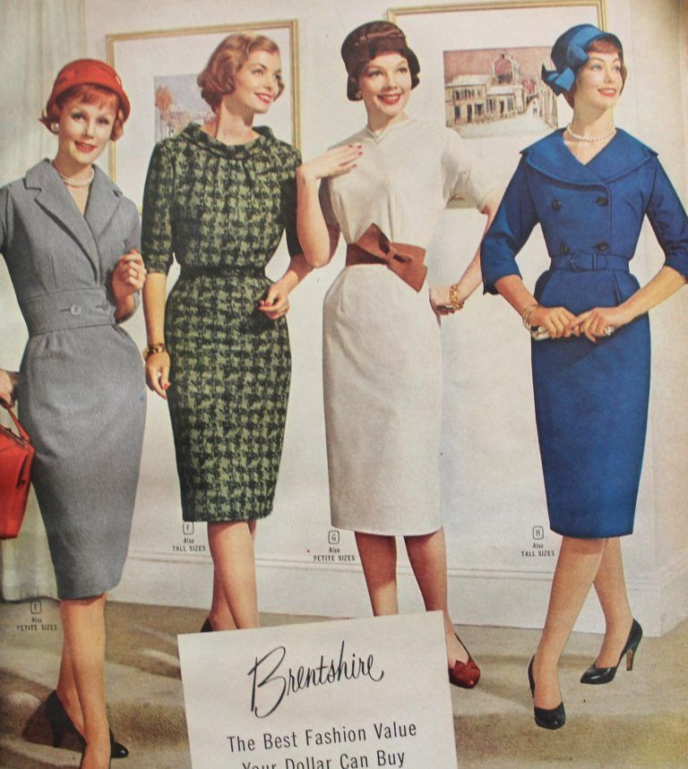 What Did Women Wear In The 1950s Fashion 1950s Fashion