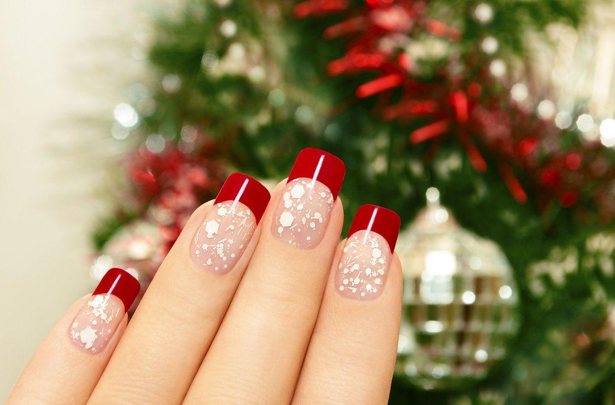5 ideas para uñas decoradas de Navidad 2014 http://enterateahora.com ...