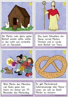 Neue Lesekarten Zu Sankt Martin Sankt Martin Kindergarten Zaubereinmaleins Geschichten Fur Kinder