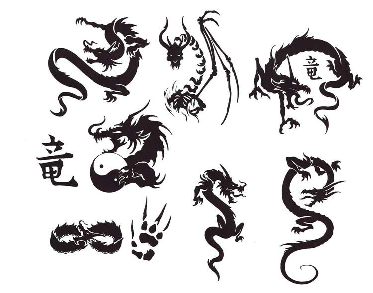Dragon Tattoo Designs Tattoos Design Gallery Small Dragon Tattoos Black Dragon Tattoo Dragon Tattoo Pictures