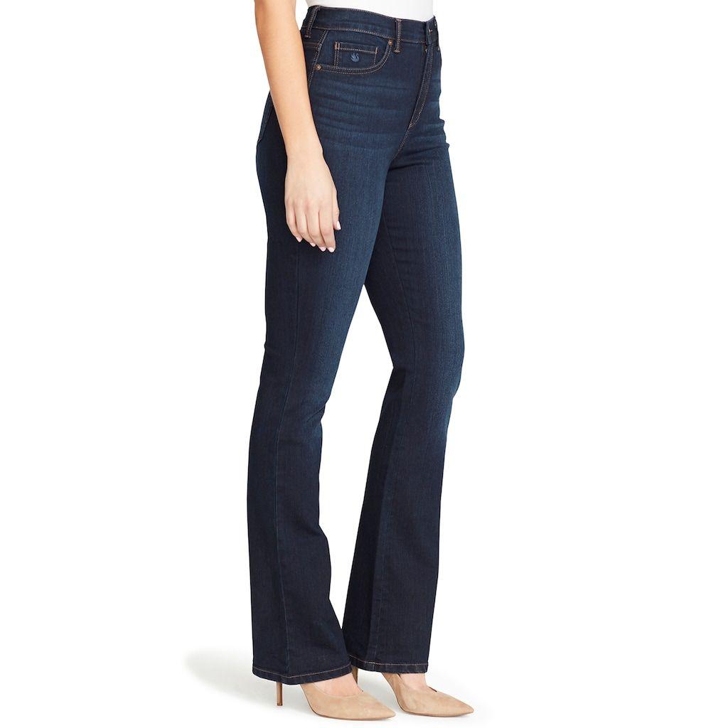Gloria Vanderbilt Amanda High Waisted Bootcut Jeans