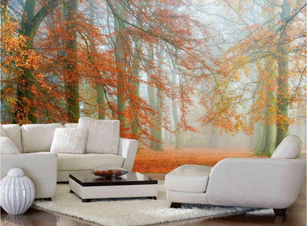 Enfin l'Automne | Achetez en Ligne des Murales en Papier Peint Décoratives- Muralunique.com