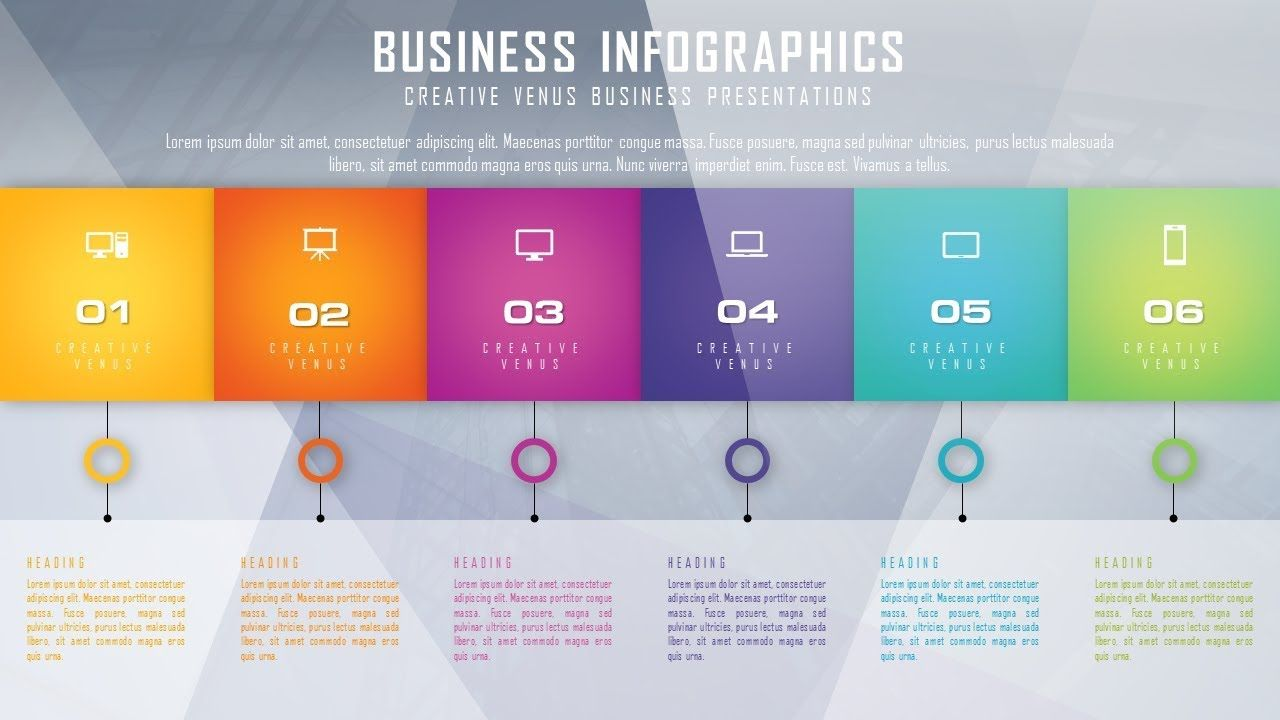 How To Design Beautiful Business Infographic In Microsoft Office - Microsoft office design templates