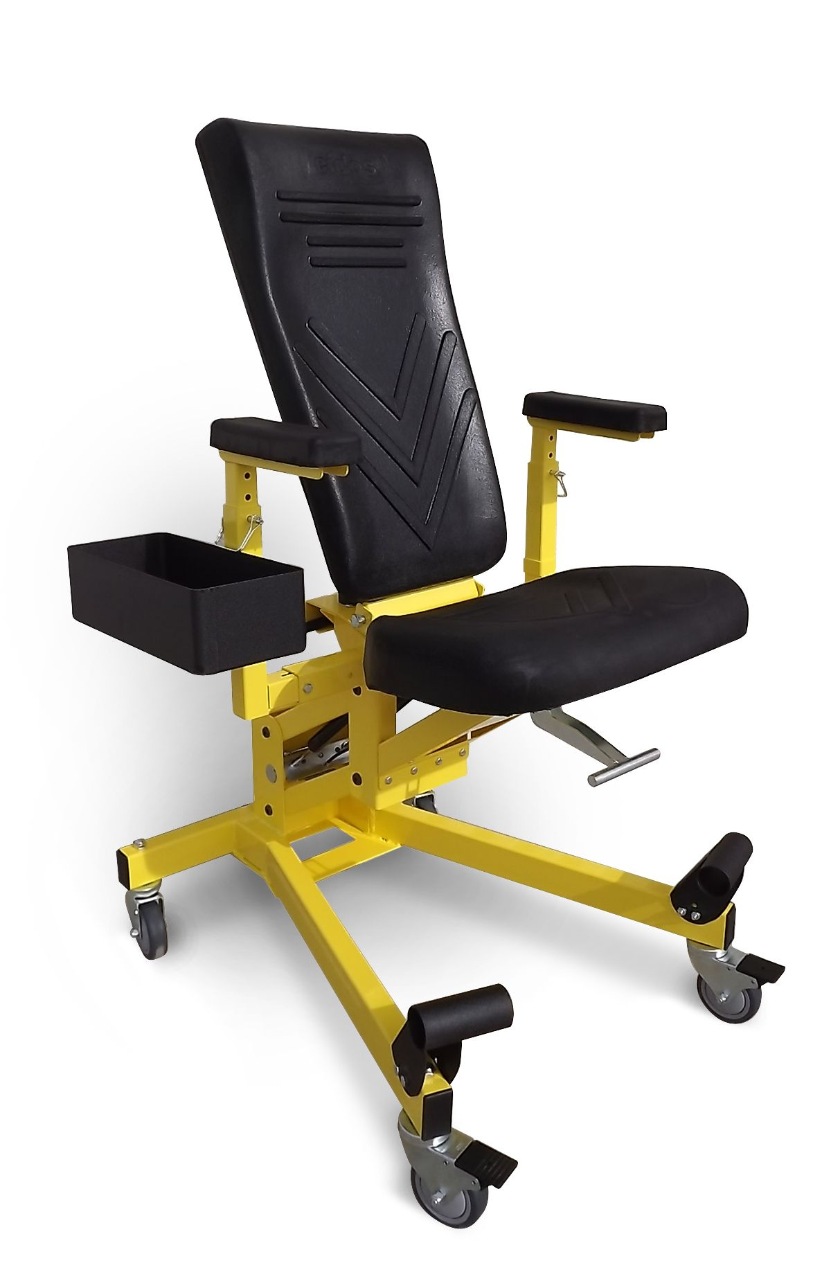Eidos model 117 gsw is an fully adjustable work positioner for Chair design ergonomics