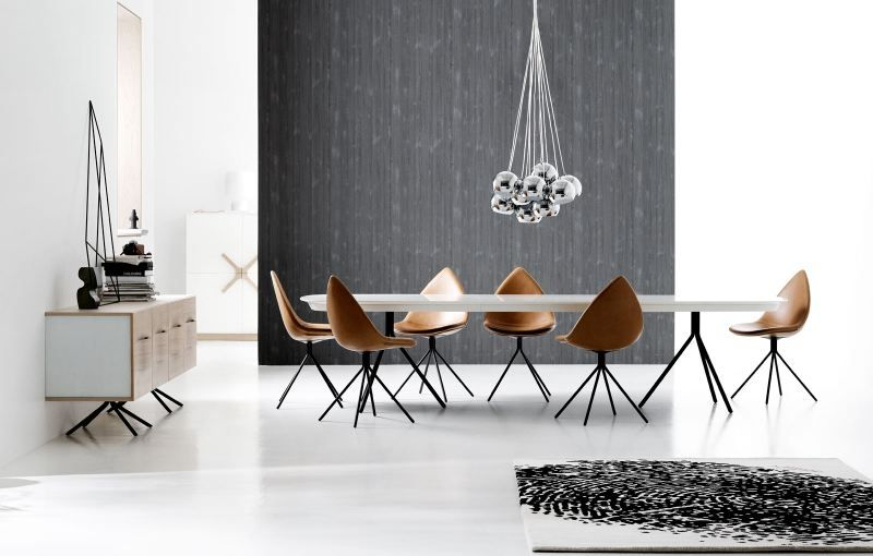 Check out the dining room collection of the famous industrial