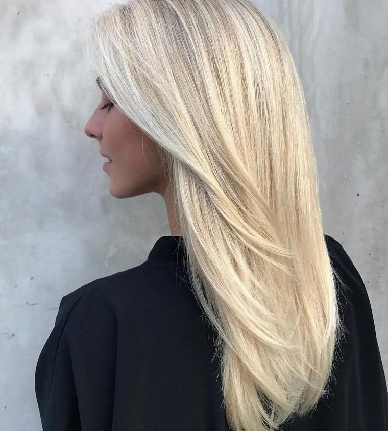 32++ Coiffure long blond inspiration