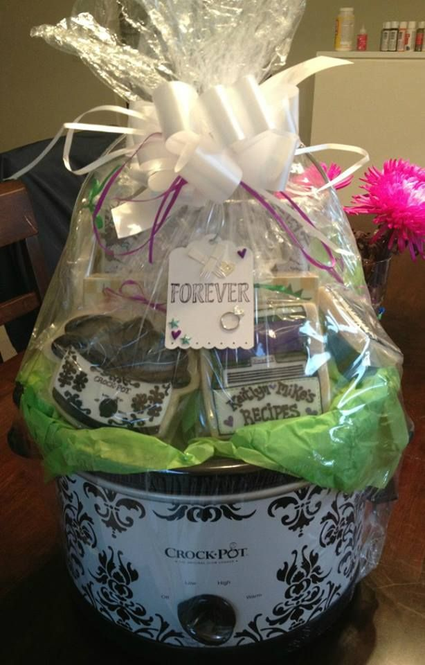 """Great Wedding Gifts Ideas: """"Crock Pot"""" Cookies. What A Great Wedding Gift Idea"""