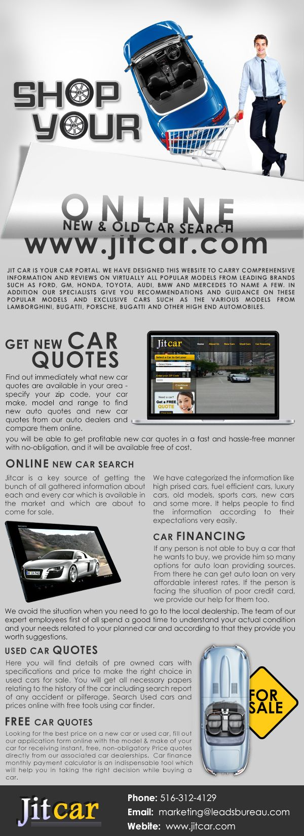 Get Free New Car Quotes From Jitcar Also Get New Car Buying