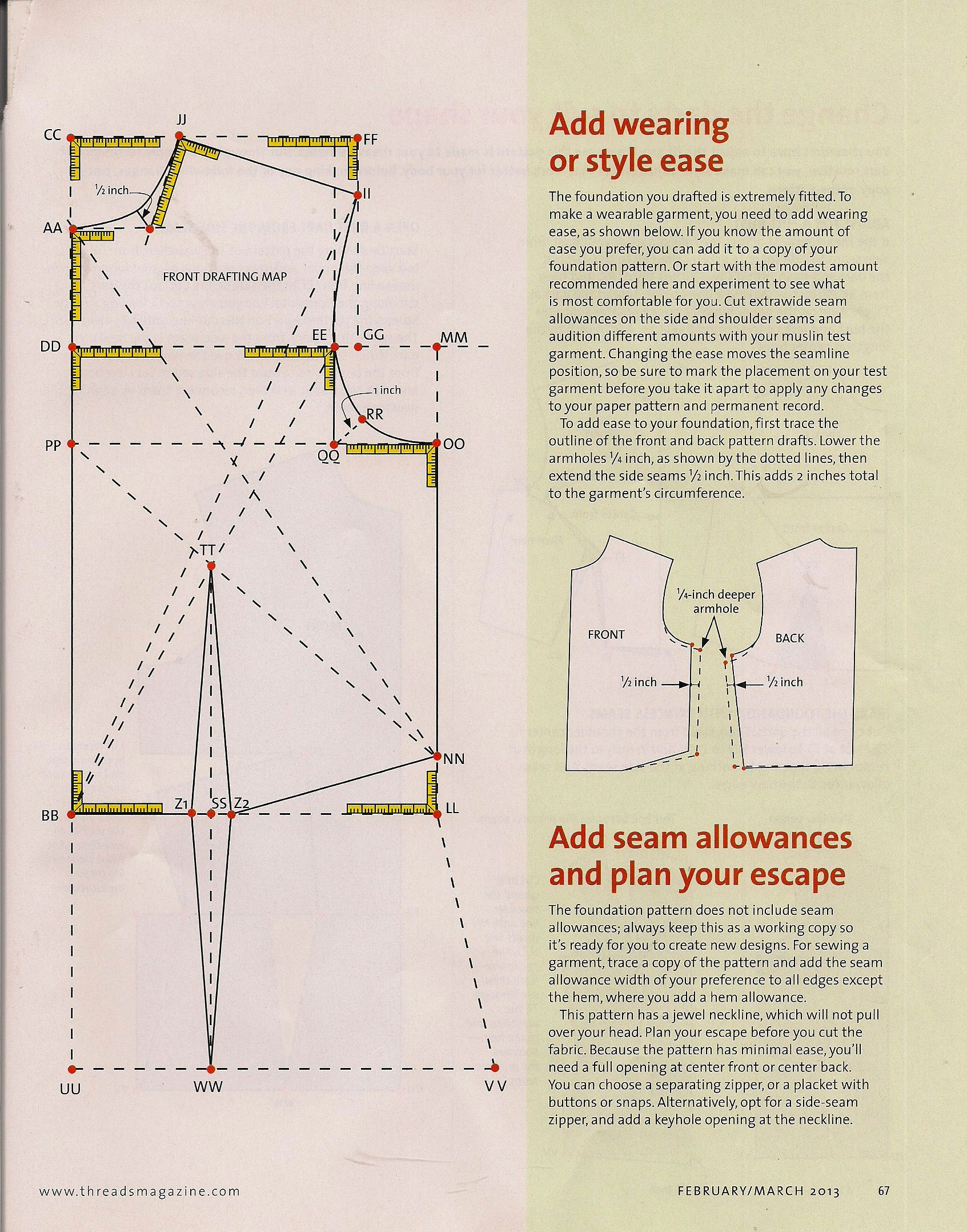making a pattern   Projects to Try   Pinterest   Costura, Patrones y ...
