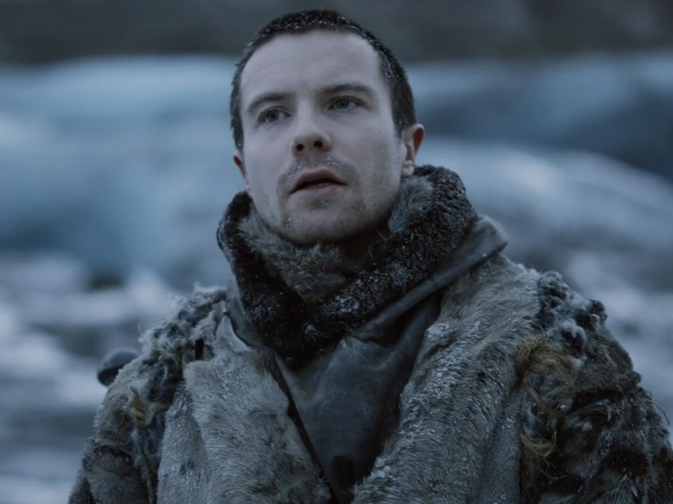 Gendry is officially the most athletic character on 'Game