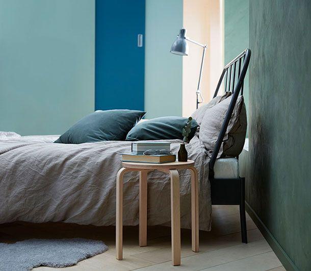 Kopardal Cadre De Lit Gris Interior Dreams In 2019 Ikea