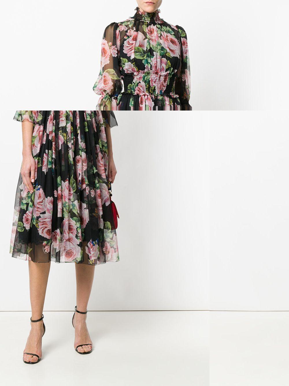 Dolce'n'Gabbana rose dress. My dear love!
