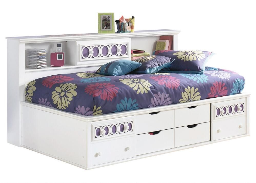 Dazzle Twin Studio Bed Bookcase Bed Daybed With Storage Kids Bedroom Sets