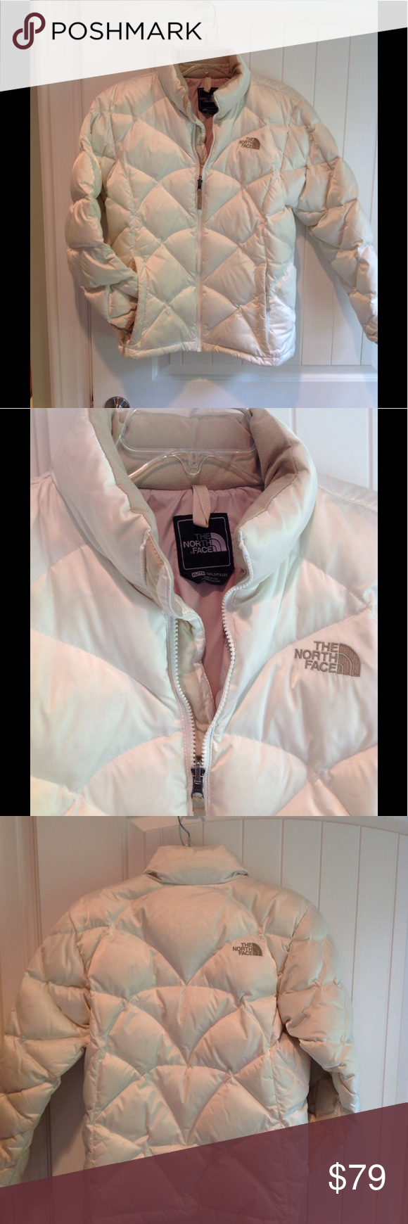 Northface Quilted Puffer Warm Winter Coat Girls Xl Girls Winter Coats Winter Coat Warmest Winter Outfits [ 1740 x 580 Pixel ]