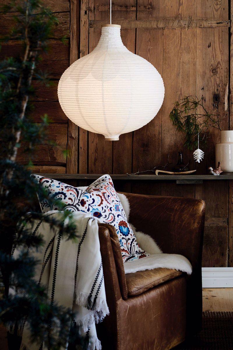 Ikea Deutschland Ein Risbyn Hangeleuchtenschirm In Zwiebelform Sorgt Fur Eine Ruhige Atmosphare Im Raum Reispapier Und D In 2020 Ikea Home Decor Diy Stuffed Animals