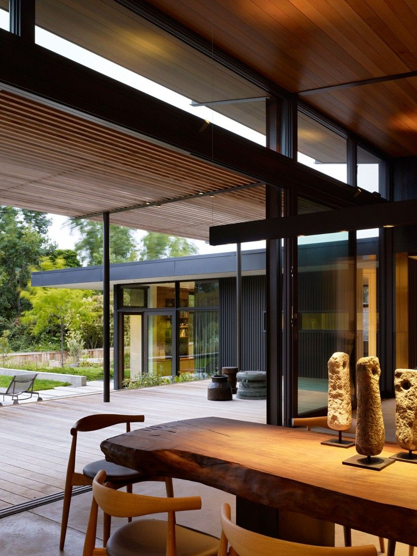 Mill valley courtyard rez aidlin darling design also metal rh pinterest