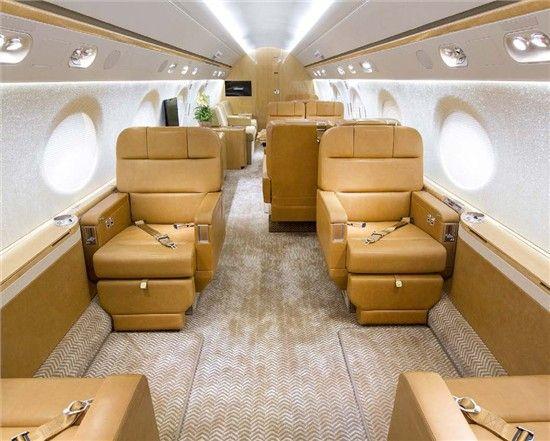 Gulfstream G550 Enhanced Navigation System Synthetic