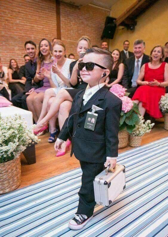 Awesome idea for ring bearer #ideisuper