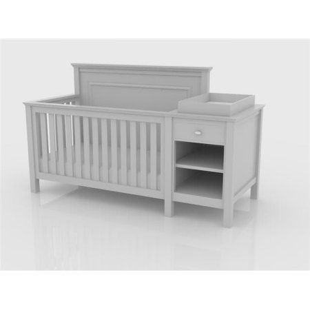 Superb Lolly U0026 Me Cogan Crib/Changer Combo, White | Convertible Crib, Crib And  Convertible