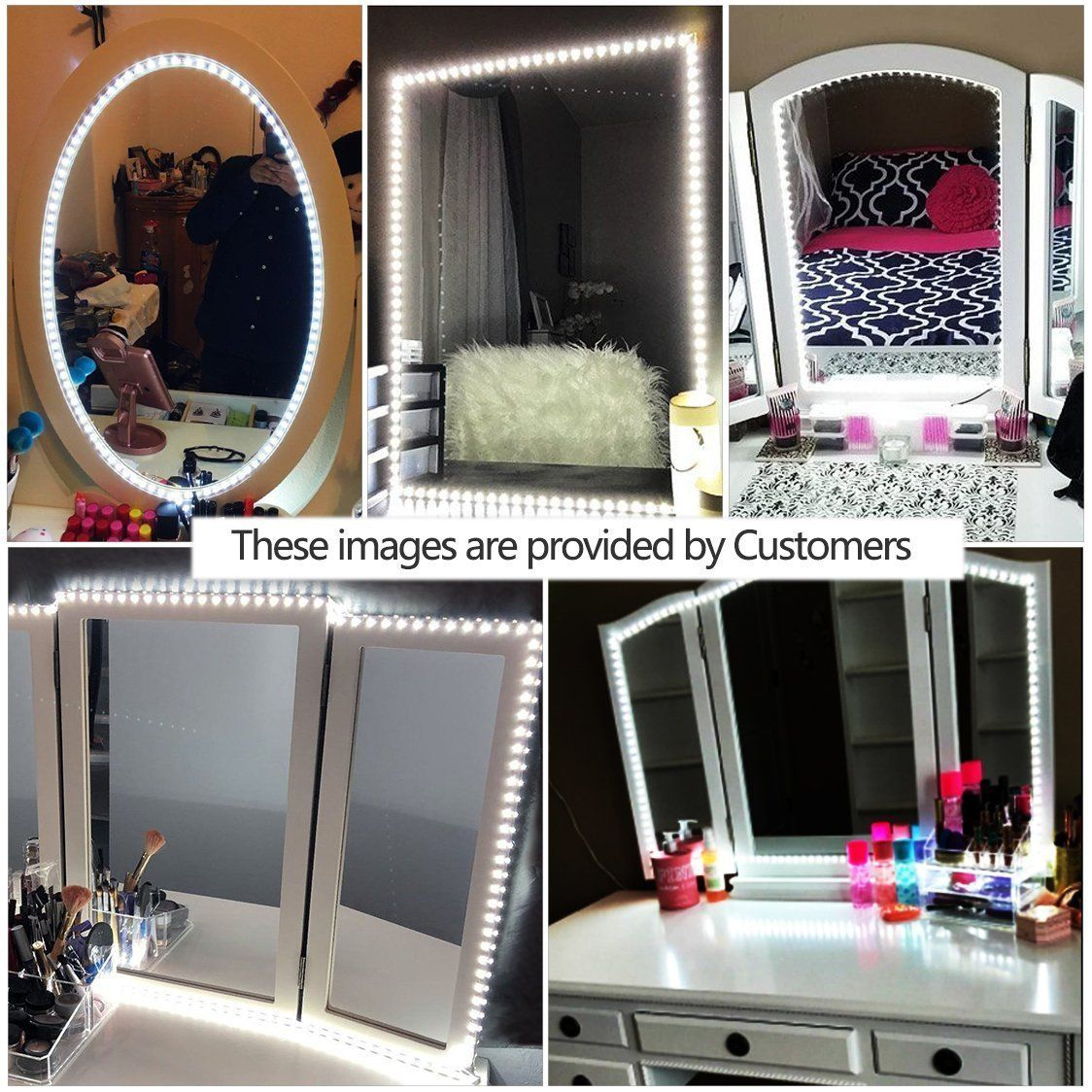 Dressing Table Mirrors With Led Lights
