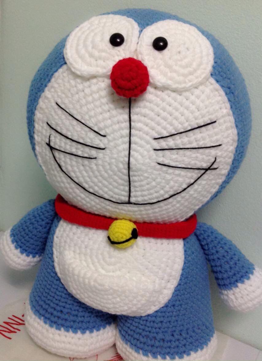 Amigurumi Anime Patrones Gratis : Doraemon crochet croch� y demas pinterest mu�ecos de