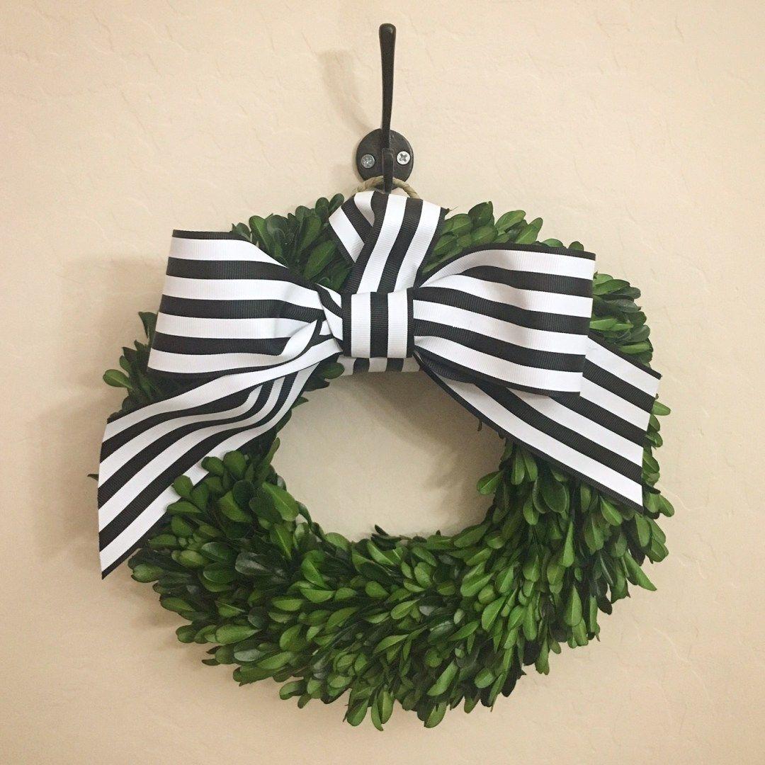 Wreath Tutorial, Boxwood Wreath