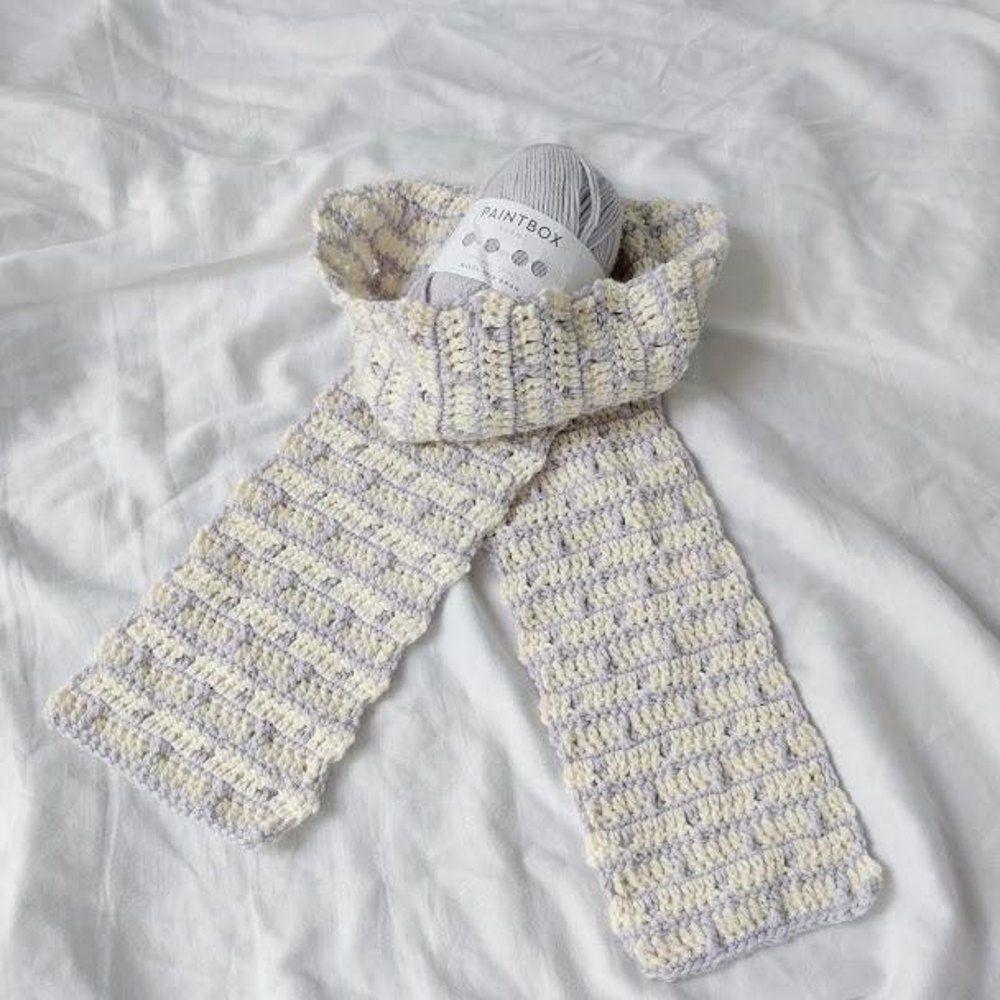 Brick Layers Scarf   Crochet   Pinterest   Ganchillo and Bufandas