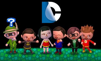 DC hero QR codes | Animal Crossing! | Animal crossing