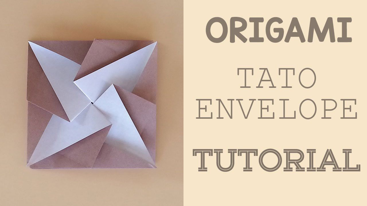 Learn how to make an Origami Tato Envelope.
