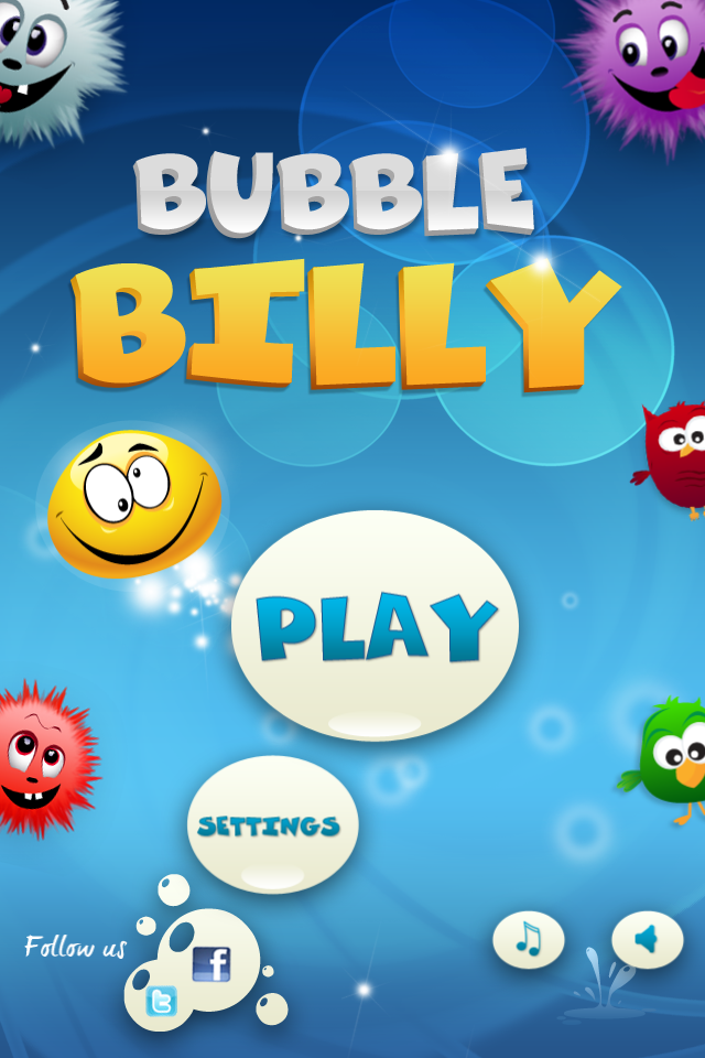 Bubble Billy game form iPhone and iPad. https//itunes