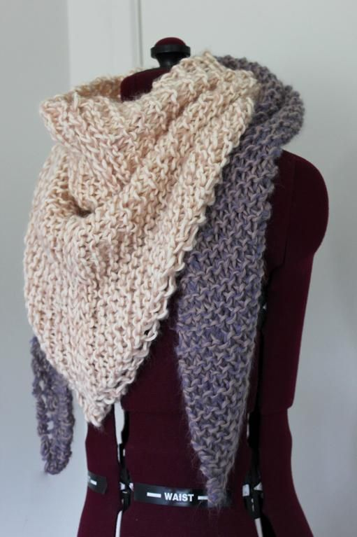 Triangle Scarf | DIY Clothes | Pinterest | Schals, Halstuch und ...