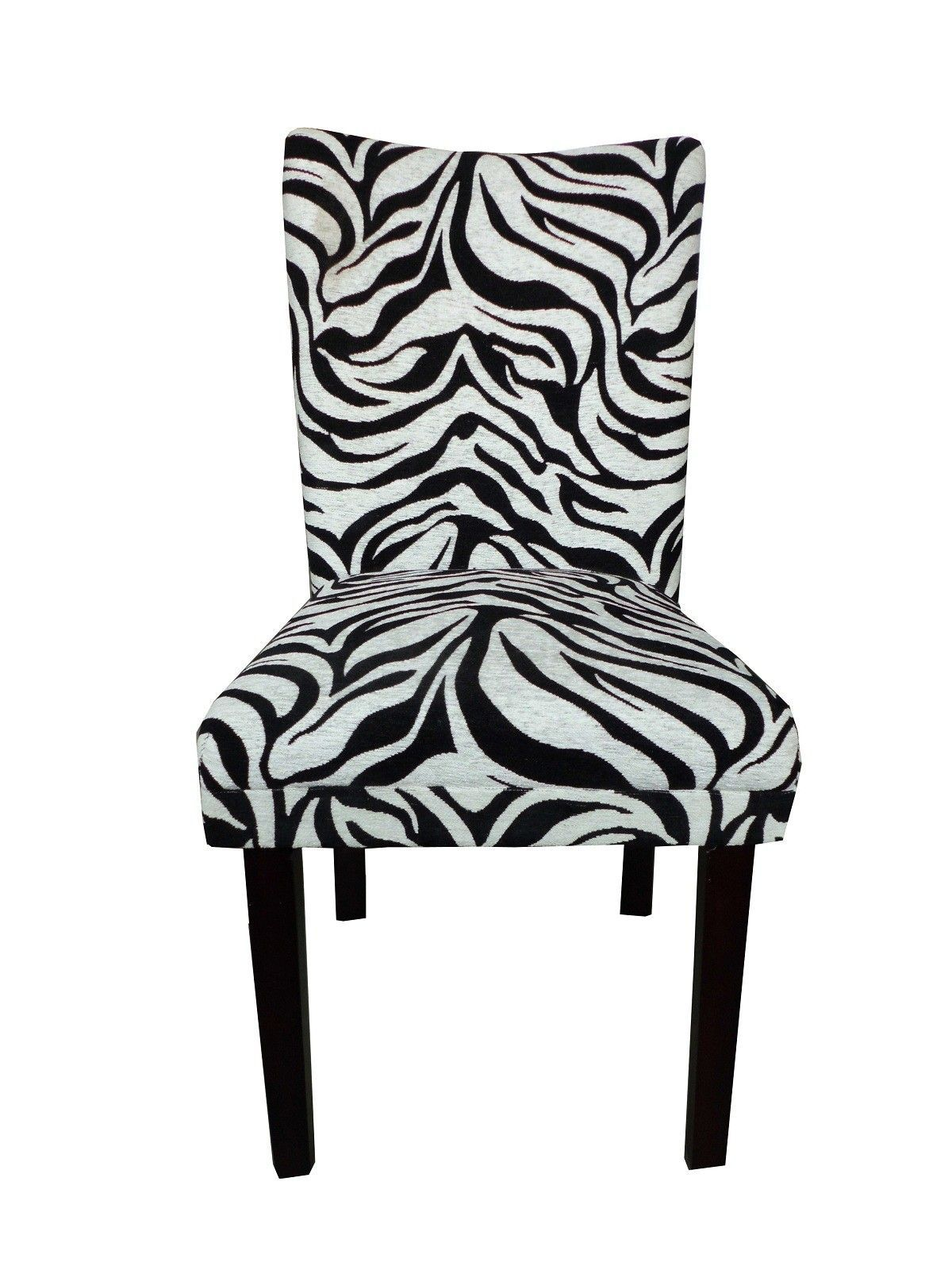 Tiger Striped Parsons Chair Products Pinterest