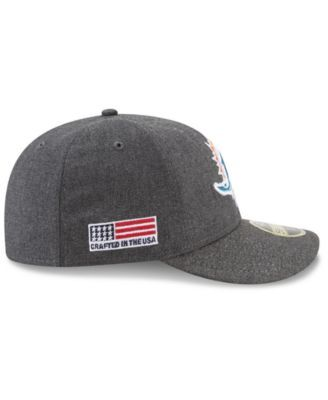 big sale 0fdc6 be761 ... uk new era miami dolphins crafted in america low profile 59fifty fitted  cap black 7 1 ...