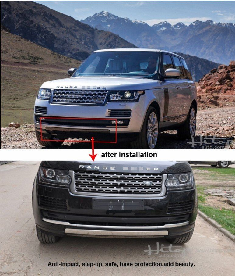 Range Rover Vogue 2013 2014 2015 2016 Front Bumper Guard In 2019