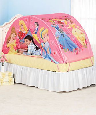 Disney Princess Play Tents Fo9r Little Girls Bed Great Holiday Gift  sc 1 st  Pinterest : tents for little girls - memphite.com