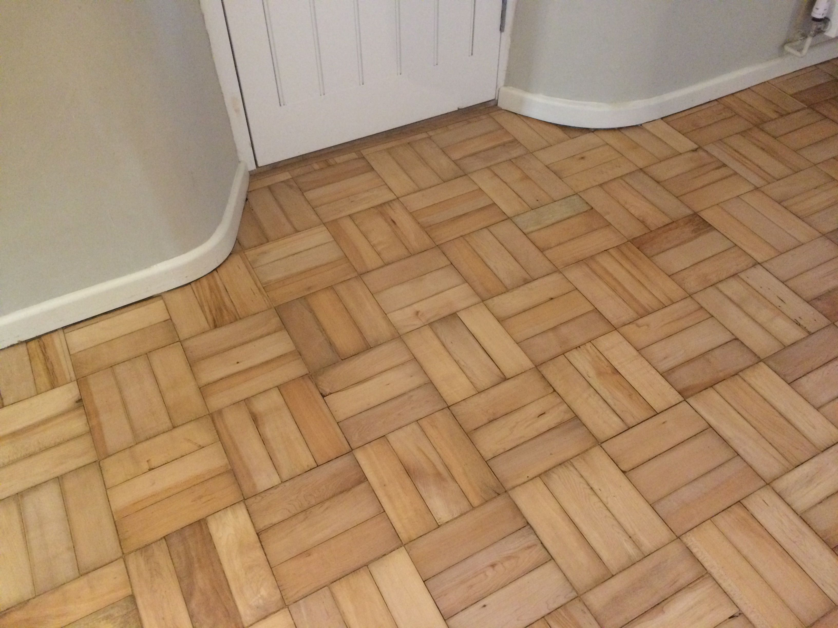 Parquet Restored Our Craftsman Salisbury Wood Replaced Repaired The Damaged Parquet Bricks And Finished With A Sand And Seal An Restoration Wood Floors Wood