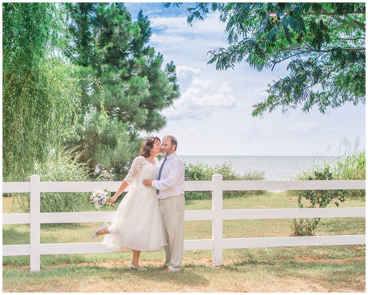 Deltaville Wedding by the Water | Wedding catering near me ...