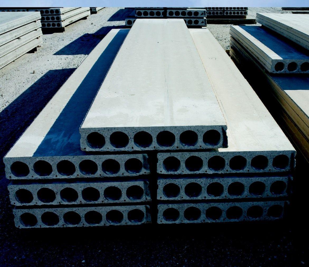 Precast Reinforced Hollow Core Concrete Floor Panels