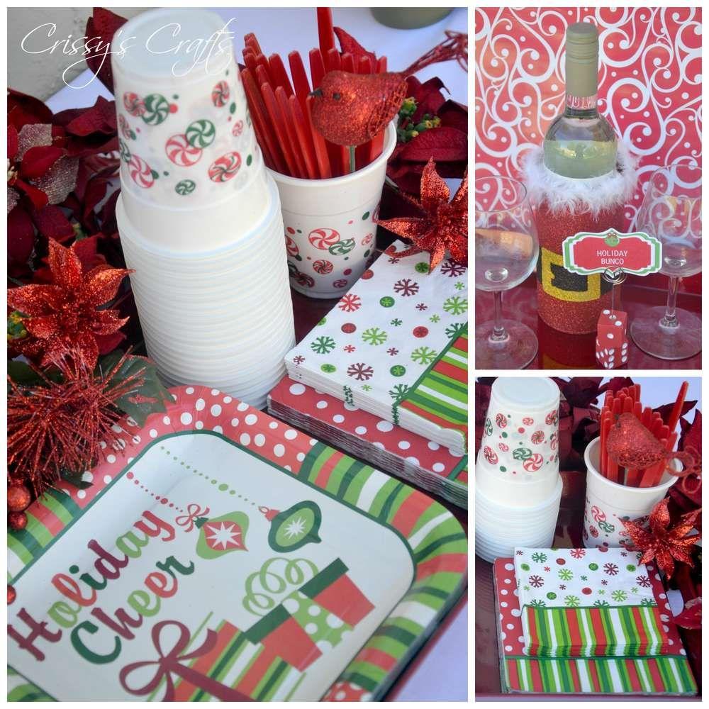Christmas Bunco Party Ideas Part - 38: Holiday Bunco Christmas/Holiday Party Ideas