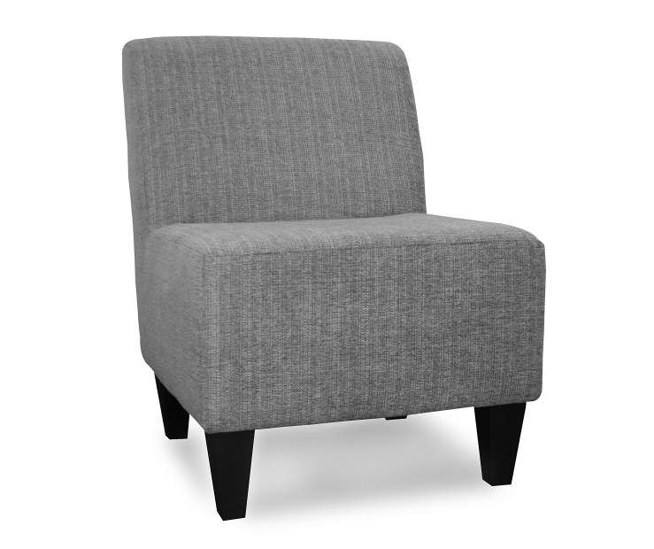 Surprising Sedona Pewter Armless Accent Chair At Big Lots Farmhouse Dailytribune Chair Design For Home Dailytribuneorg