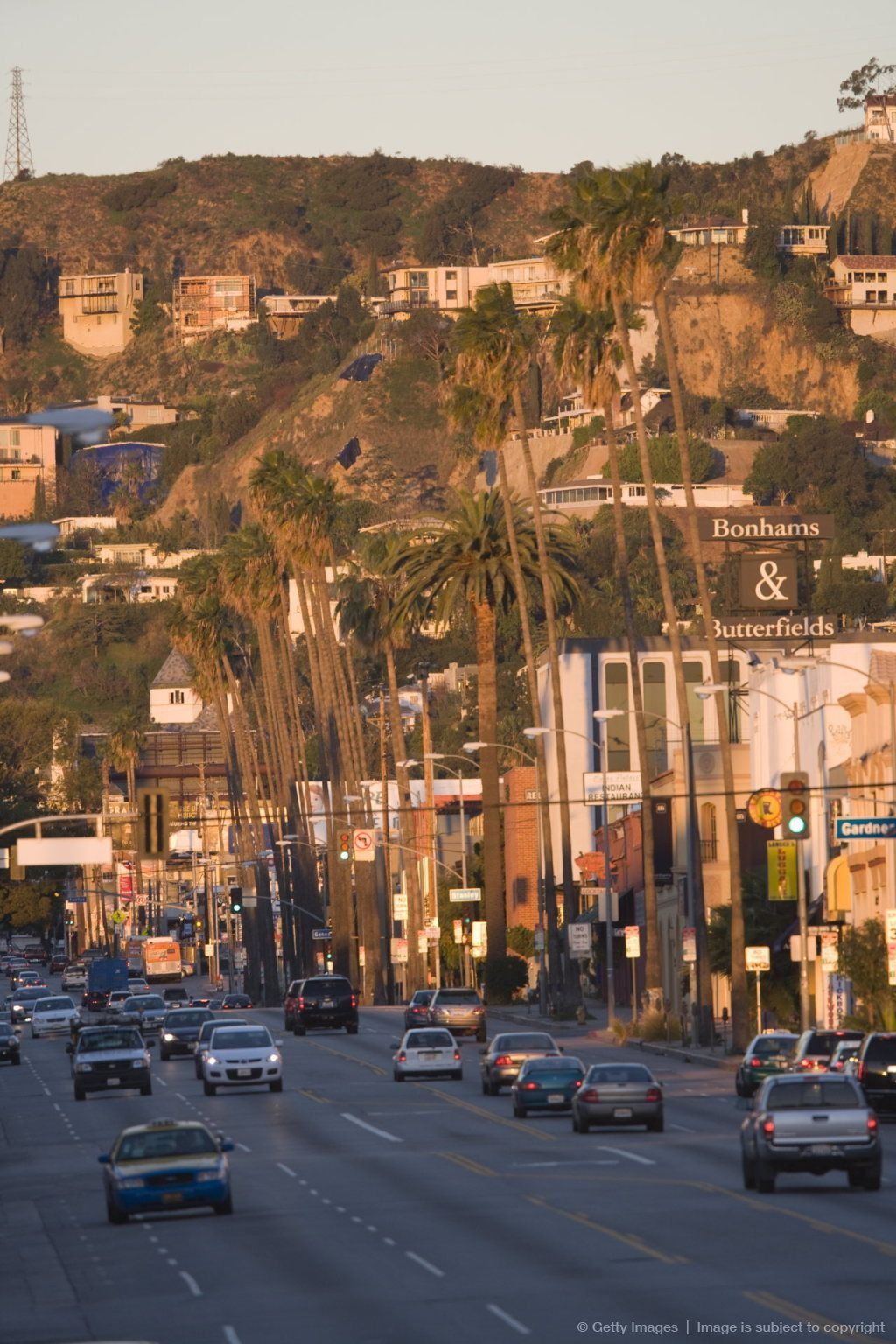 Sunset Boulevard Hollywood Los Angeles California California Dreaming Los Angeles California Dreamin