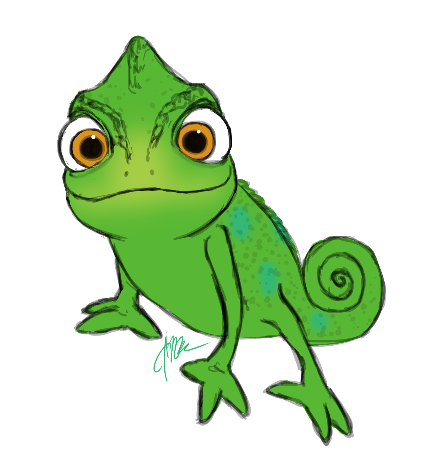 Images For Gt Tangled Pascal Smiling Disney Tangled